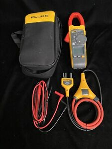 Fluke 376 Fc True Rms Clamp Meter I2500 18 Iflex Flex Cable With Leads And Case