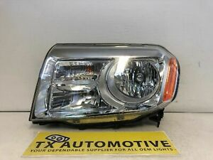 2012 2013 2014 2015 Honda Pilot Headlight Left Lh Driver Halogen Oem Damaged L97