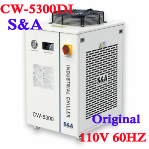 110v S a Cw 5300di Industrial Water Chiller 60hz For Co2 Laser Cnc Spindle