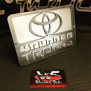 Toyota 4runner Trd Pro Hitch Cover 1 8 Steel Two Layers