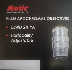 Motic Psm 1000 Objective Plan Apochromat Elwd 2x Pa For Psm1000 1101001700141