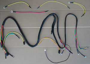 Main And Lighting Wiring Harness For Ih International Cub Cadet 104 105 106 107