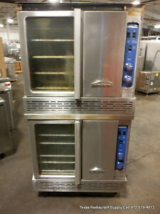 Imperial Icvg 2 a Gas Double Stack Full Size Convection Oven Year 2018