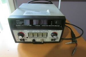 Sencore Lc53 Z Meter Capacitor inductor Analyzer With Manual