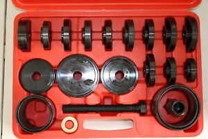 Front Wheel Drive Bearing Remover Installer Service Kit 23 Piece Used