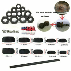 11x Damaged Nut Bolt Remover Stud Extractor Set 1 10 Removal Kit Top Quality