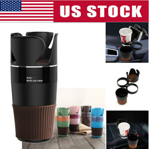 1x Auto Multi Cup Case Organizer Phone Holder Car Drink Bottle Gadget Storage