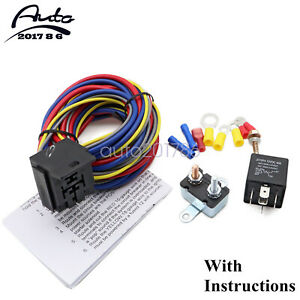40205g Electric Fuel Pump Harness And Relay Wiring Kit Brand Oem