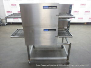 Lincoln Impinger Model 1116 Gas Double Stack Conveyor Pizza Oven