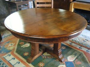 52 Mahogany Dining Table Roycroft Stickley Era