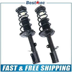 Rear Pair Complete Strut Coil Spring Assembly Fits 1993 1997 Geo Prizm