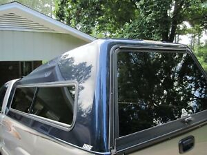 Are Model Tw Fiberglass Truck Cap For Chevy Trucks With Full Size 8 Foot Bed