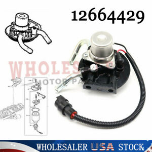 New Fuel Filter Head Assembly With Heater 12642623 12664429 For Duramax V8 6 6l