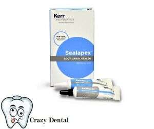 Kerr Sybron Sealapex Canal Sealant Base Catalyst Tubes Only New In Stock 18598