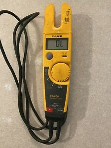 Fluke T5 600 Electrical Voltage Continuity And Current Tester tested