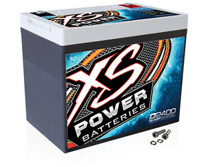 Xs Power D2400 3500 Amp Agm Power Cell Car Audio Battery Terminal Hardware