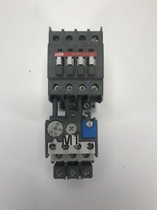 Abb A26 30 10 Contactor With Ta25 Du Overload Relay Clean Tested