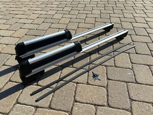 Oem Roof Rack Cross Rail Bar Kit With Ski Snowboard Rack Mercedes Benz Used