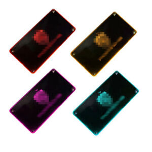 Colorful Foot Pedal Light Pc led Car Interior Atmosphere Lamp Decoration Light