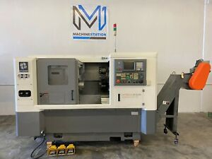 Hwacheon Hi tech 200 Cnc Turn Mill Center C Axis Live Tool Lathe Doosan Mori