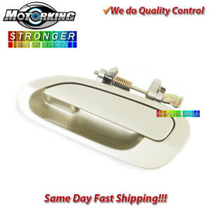 Exterior Door Handle Rear Left Outside For 1998 2002 Honda Accord Beige Yr508m