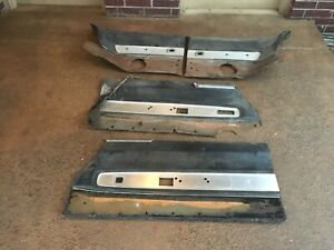 1966 1967 Dodge Charger Front And Rear Door Panels Set Of 4