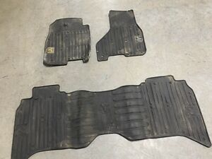 2009 2016 Dodge Ram 1500 Crew Cab Oem All Weather Rubber Slush Floor Mats Oem