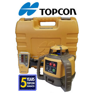 Topcon Rl h5a Db2 alkaline Grade Match Rotating Level With Ls 80l Receiver