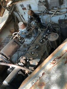 In Lincoln Zepher 48 V12 1 11 37 Turns Over Complete Drive Line