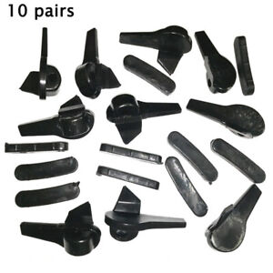 Supplies Tyre Disassembly Head Tire Changer Equipment 10 Pairs Nylon Plastic