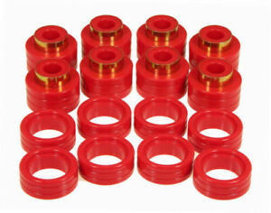 Prothane Body Mount Bushing Kit For 94 01 Dodge Ram Extended Club Cab Red