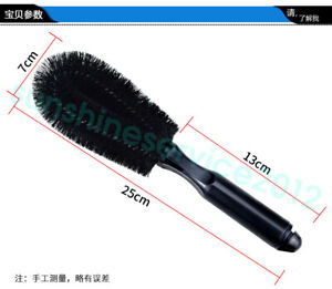 Auto Wheel Brush 10 Inch Detailing Tire Rim Vehicle Motocycle Cleaning Tyre Car