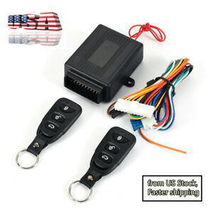 60 80m Car Remote Controller Central Alarm Door Lock Unlock Keyless Entry System