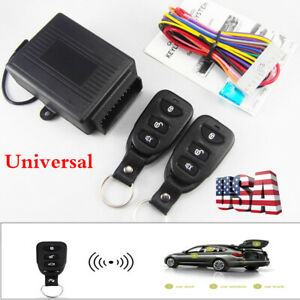 Car Anti theft Alarm Remote Control Central Kit Door Lock Keyless Entry System