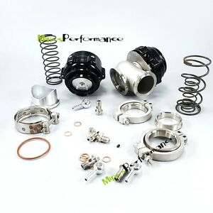 Universal 50mm Bov Blow Off Valve 44mm Turbo Mainfold Exhaust Wastegate 8 7psi