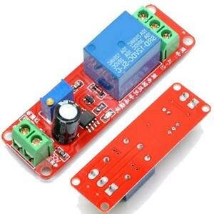 Dc 12v Relay Module Adjustable Delay Time Switch Ne555 Timer Board High Quality