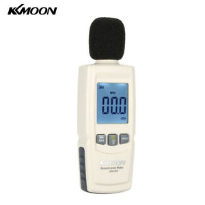 Kkmoon Lcd Digital Sound Level Meter Decibel Monitoring Tester 30 130db
