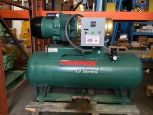 10hp Champion Rotary Vane Air Compressor Lv Series