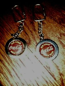 Coca cola spinner keychain. Lot of 2