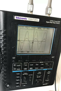 Tektronix Ths720 100 Mhz 2 Channel Scope Meter 2probes ps used in Good Condition