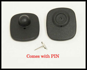 1000 Eas Checkpoint Compatible Rf Security Sensor Tags Wtih Pin Best Seller