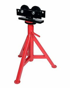 Toledo Pipe 56667 1 8 12 Roller High Head Pipe Stand 25 43 Fit Ridgid Rj 98
