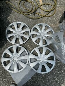 Toyota Corolla Hubcaps Wheel Covers Replacement Caps 09 10 11 12 13 15 Set 4