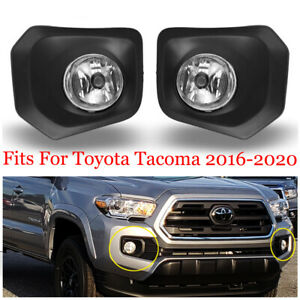 Complete Fog Light Kits For 16 17 18 19 20 Toyota Tacoma W Switch Wiring Cover