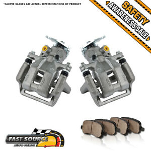 Rear Brake Calipers Pads For 2008 2009 2010 Honda Accord 2009 2010 Acura Tsx