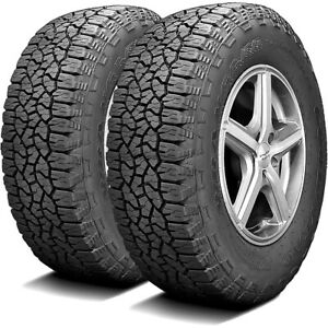 2 New Goodyear Wrangler Trailrunner At 275 55r20 113t All Terrain A t Tires