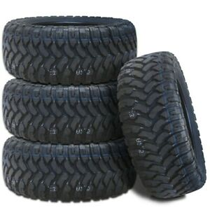 4 Rbp Repulsor M T 33x12 50r20lt 114q 10ply All Terrain Mud Truck Tires Mt