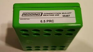 55487 REDDING COMPETITION SEATING DIE 6.5 PRC BRAND NEW FREE SHIP $174.99