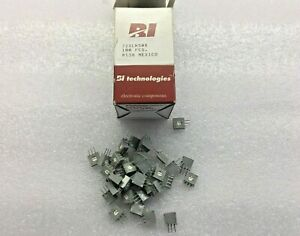 37 Piece Lot 72xlr50k Bi Tech Trimmer 50k Ohm 0 5w Pc Pin Side