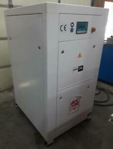 50hp Us Compressor Dvk50 240v 3 Ph With Upright Aux Tank Only 7041 Load Hours